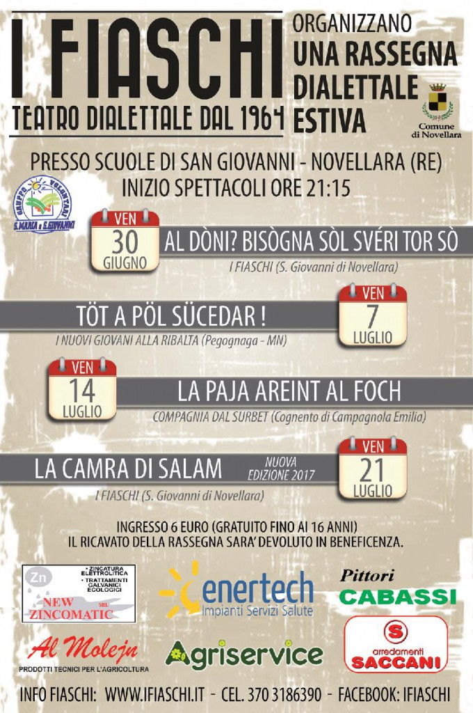 Locandina FIASCHI 2017